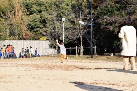 初夢には凧が空高く舞い上がる夢を!|稲穂の筆/大竹和紙のミニ凧/さとまち2WAYリース