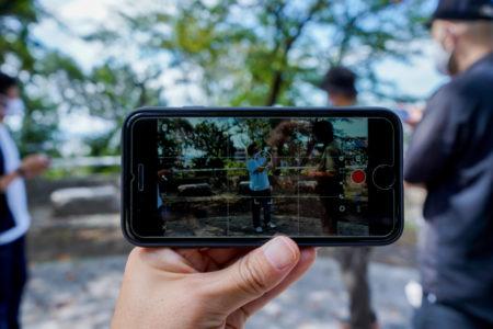 スマホでおしゃれに動画撮影。しぜんと自然にインスパイア! |動画SESSION