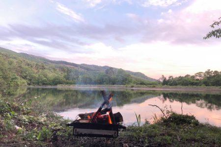 初心者の為のたき火の楽しみ方 。1/fゆらぎで穏やかな日を。|たき火SESSION