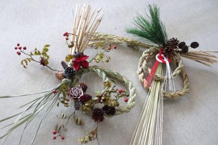 稲なわで作る「さとまち2WAYリース」~クリスマス&お正月飾り~@東京 12/5